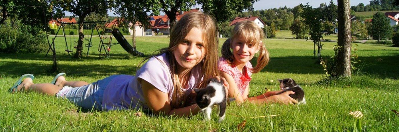 Kinder und familiengerechter Bauernhof Urlaub machen Ferienwohnungen