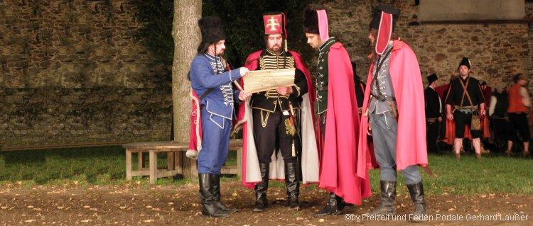 Festspiel Trenck der Pandur Waldmünchen - Historisches Trenckfestspiel am Fespielplatz Schloßhof