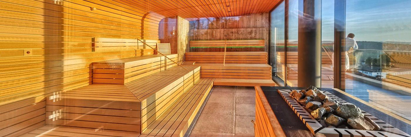 Bayerischer Wald Wellnesshotel mit Sauna Unterkunft in Bayern