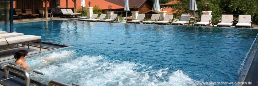 Bayerischer Wald Unterkünfte mit Pool, Schwimmbad, Whirlpool, ...
