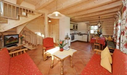 Wohnraum vom Ferienhaus Bayrischenwald