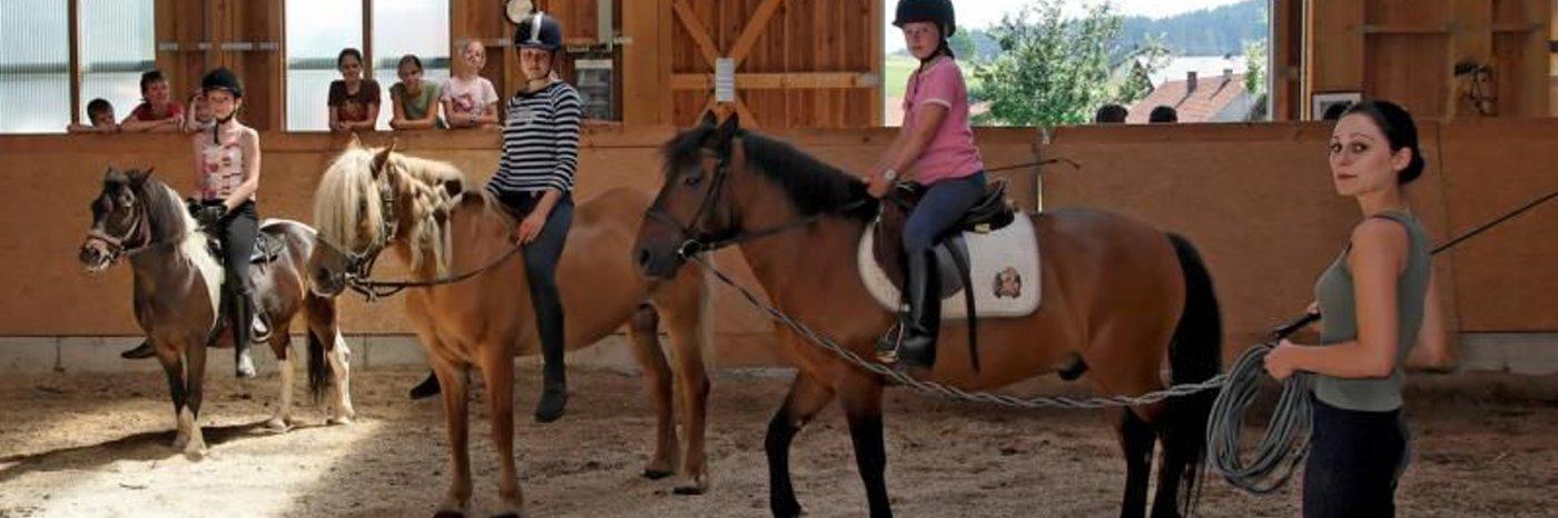 Bayerischer Wald Reiterferien für Mädchen Kinder Jugendliche und Erwachsene