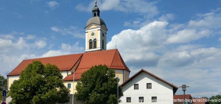 Unterkunft Wiesenfelden Ausflugsziele bei Straubing in Niederbayern