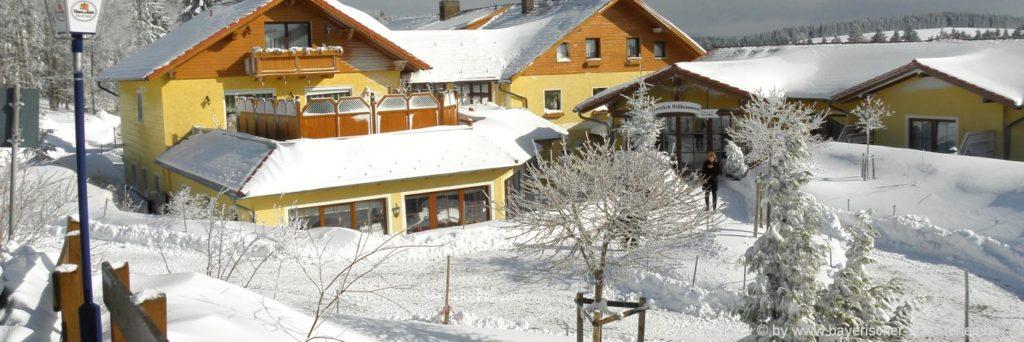 Ski Langlauf Unterkünfte im Bayerischen Wald, Niederbayern & Oberpfalz