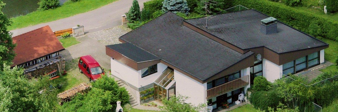Doppelbett Ferienwohnung mit Etagenbetten Unterkunft in Bayern Ferienhaus
