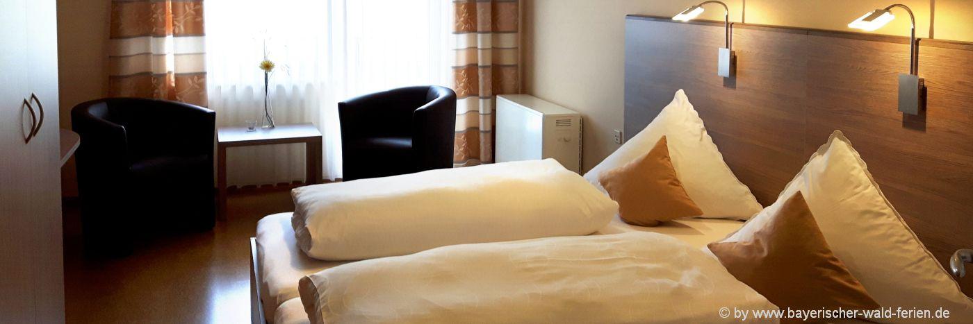 Hotels und Pensionen in der Oberpfalz mit Frühstück