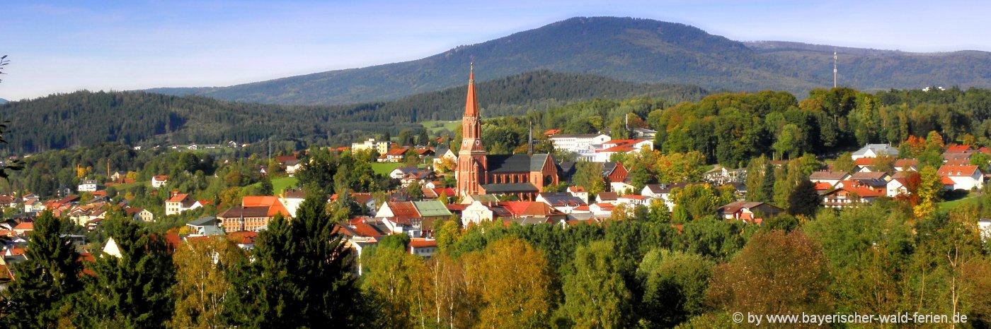Sehenswürdigkeiten in Zwiesel Ausflugsziele Bayerischer Wald