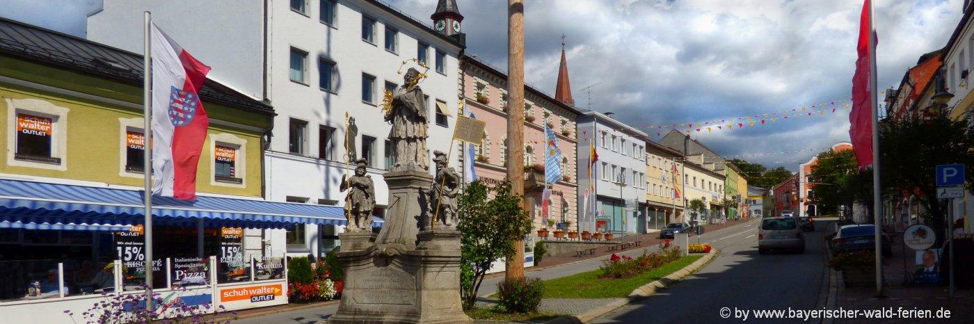 zwiesel-unterkunft-stadt-bayerischer-wald-ausflugsziele